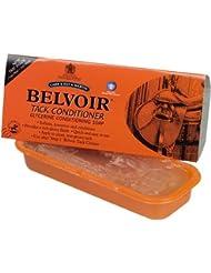 Belvoir Step 2 Après-shampoing Bac à savon en Pastilles 250 g-Pur Savon transparent contenant de l'huile de noix de coco &glycérine pour nourrir, conserver &condition