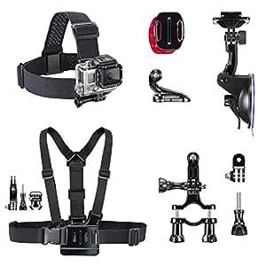 mantona GoPro accessoires Set Mix I