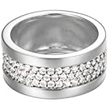 Esprit Jewels Damen-Ring 925 Sterling Silber Pure Pave wide Gr. 53 (16.9) ESRG92215A170