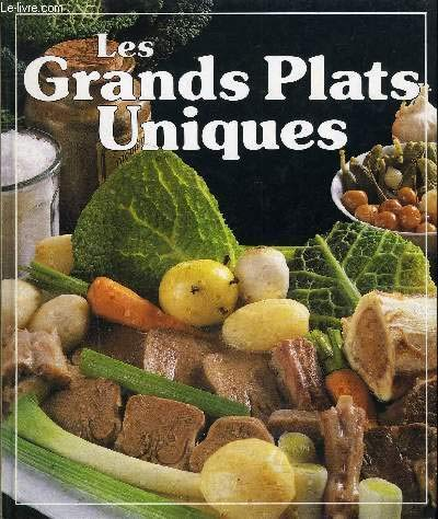 Les Grands plats uniques PDF Books