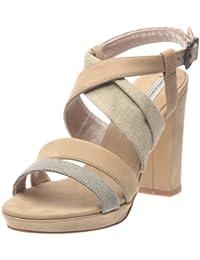 Tosca Blu Shoes Giglio - Sandalias de cuero para mujer