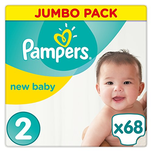 Pampers New Baby Nappies Jumbo Pack, Size 2 51bNh0JRy6L