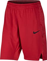 Nike W Nk Pantalón Corto de Baloncesto, Mujer, Rojo (University Red / University Red / Black), M