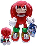 Knuckles the Echidna 12'' Plush Sonic X Video Game Hedgehog Red Doll Powerful Soft Toy