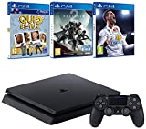 Pack PS4  + Destiny 2 + FIFA 18 + Qui es-tu?