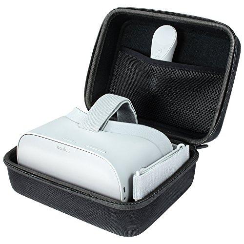 reVRsed® Premium Tasche Case Hülle Box Etui für Oculus Go und Samsung Gear VR Virtual Reality Brille mit Controller u. Zubehör