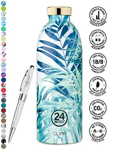 24 Bottles Trinkflasche Clima 330 ml | 500 ml | 850 ml versch. Farben inkl. Lieblingsmensch Kugelschreiber, Größe:850 ml, Farbe:Lush 24