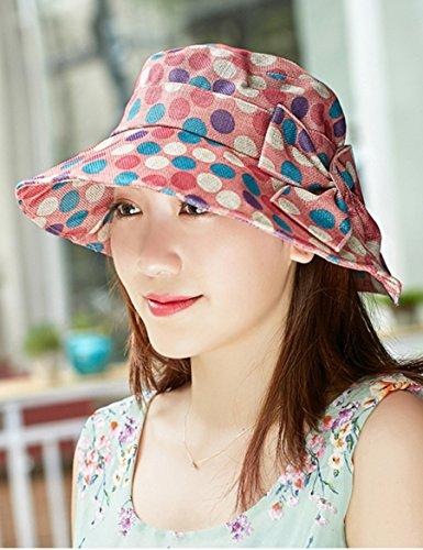Tide Spring Sunset Point Sunscreen Chapeau de soleil pliable Anti-ultraviolet Big Along The Sunscreen ( Couleur : 2 ) 1