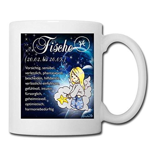 51bNjH6Qg%2BL Sternzeichen Fische Kaffeetasse Becher Tasse