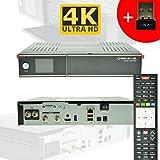 GigaBlue Ultra UHD UE 4K HYBRID LINUX Enigma2 HEVC H.265 2x DVB-S2 FBC Tuner (Twin) + DVB-S2 Single + 150Mbit WLAN Stick NA-DIGITAL
