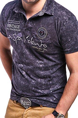 MT Styles Poloshirt SP-MUNDO T-Shirt R-2984 Schwarz