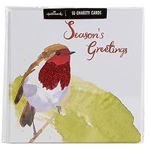 Hallmark weihnachtskarten innentext 39 special time of year 39 englischer text multipack 10 - Weihnachtskarten amazon ...