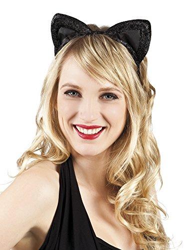 erdbeerclown- Katzenohren Kostüm Haarreif , (Halloween Kostüm Bär Löwe Tiger)