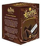 Produkt-Bild: Happy Schoko Glückskeks - 10er Box Premium vegane Schokoladen Glückskekse - traditionell hergestellt in Deutschland - inspirierende Botschaften