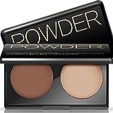 Rowentauk Contour Palette Pressed Powder Highlight Powder Double Color Professional Make-up Palette