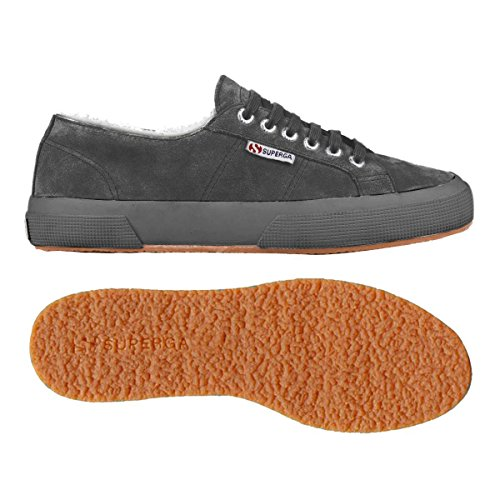 Le Superga - 2750-sueu Microfleece Grey Stone