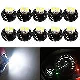 HSUN T4.2 Lot de 10 ampoules LED SMD1210 20 lumens extrêmement lumineuses pour...