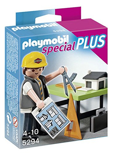 Playmobil 5294 architect with planning table at shop ireland for Table playmobil