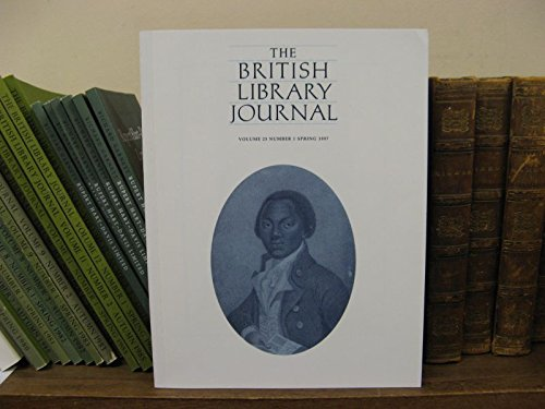 The British Library Journal, Volume 23, Number 1, Spring 1997