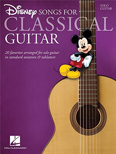 Disney Songs - Classical Guitar. For Chitarra Classica, Tablatura di Chitarra