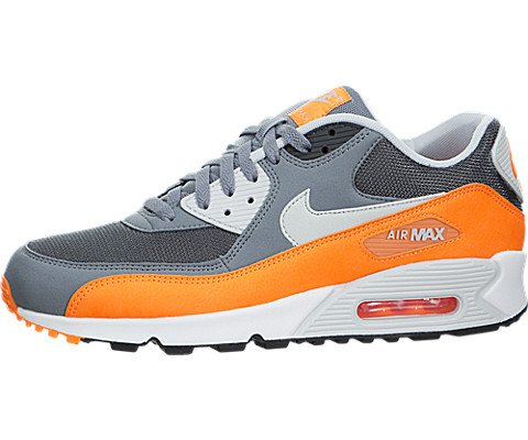 info for 86c61 b831e Nike Air Max 90 Essential Schuhe cool grey-pure platinum-total  orange-anthracite