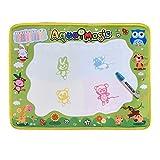 Wokee Wasser Doodle Matte für Kinder Baby Toddler Wasser Zeichnen Matte - Wasserzeichnung Malerei Schreibmatte Bord Magic Pen Doodle Geschenk 48cmX36cm