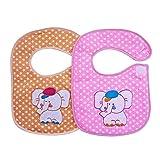 Littly Premium Velcro Bibs Combo, Pack o...