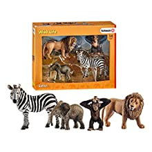 Schleich-Figurine Kit de Base Wild Life, 42387, Multicolore