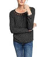 edc by Esprit mit Muster - T-shirt à manches longues - Femme