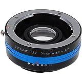 Fotodiox Pro Adaptateur de monture d'objectif avec Commande d'ouverture pour Yashica AF à Canon