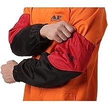 Worker - Mangas protectoras para soldadura de arco (46 cm, mangas de soldadura de