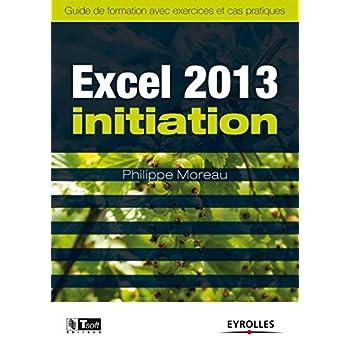 Excel 2013 Initiation