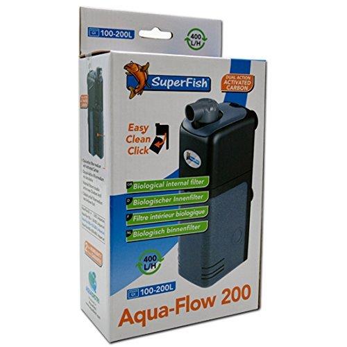 Superfish Aquarien Innenfilter Aquaflow 200 (200-400 l/h)