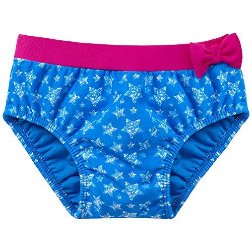 Schiesser Baby - Mädchen Schwimmwindel Bade - Slip, Gr. 74 (Herstellergröße: 413), Blau (blau 800)