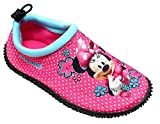 Get wivvit Niña Zapatos Para Agua Disney Minnie Mouse Neopreno Piscina Aqua Playa GB Tallas de 7A 12 - Rosa, EU 24/25 (UK 7-8)