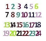 Artemio Zahlen für Adventskalender