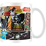 "Star Wars MG23491 8 x 11,5 x 9,5 cm ""paneles de cómic"" taza de cerámica, Multi-color"