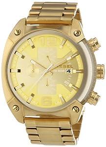 Diesel DZ4299 - Reloj de pulsera hombre, revestimiento de acero inoxidable, color dorado de Diesel