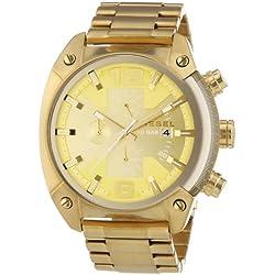 Diesel DZ4299 - Reloj de pulsera hombre, revestimiento de acero inoxidable, color dorado