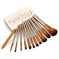 Naked 3 Woman 12Pcs Naked3 Makeup Brushes Tools Set Make Up Brush Tools