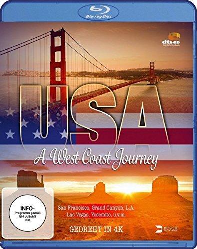 USA - A West Coast Journey [Blu-ray]