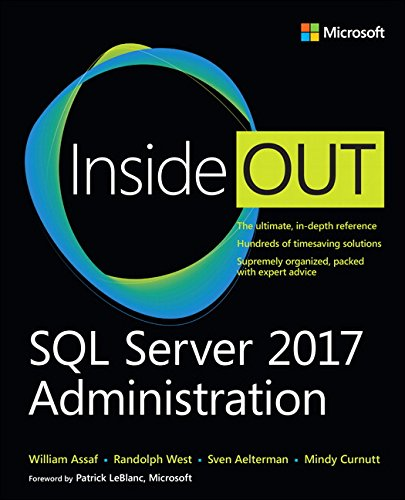 SQL Server 2017 Administration Inside Out por William Assaf