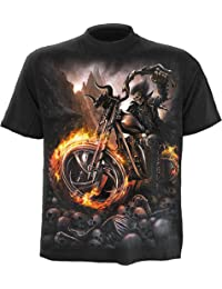 Spiral - Men - WHEELS OF FIRE - T-Shirt Black