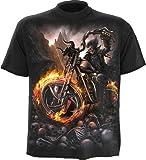 Produkt-Bild: Spiral Wheels Of Fire T-Shirt schwarz XXL