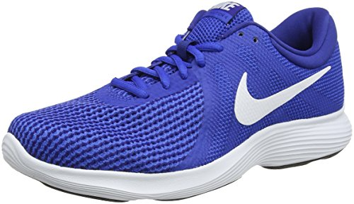 Nike revolution 4, scarpe da trail running uomo, blu (game royal/white/deep royal blue/black 400), 41 eu