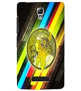 PrintDhaba Prince D-2970 Back Case Cover for LENOVO A2010 (Multi-Coloured)