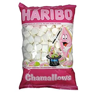 Haribo Blanc Chamallows - 1 kg