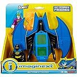 Fisher Price Imaginext Toy - Super Batwing y figuras de DC - Batman y Joker Action Figure