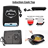 XODI Surya Ray Induction Cooker LH-A9 ||A8 || Insta Cook ST 220-230 V 50/60 Hz 2000-Watt Cook-top (Black)