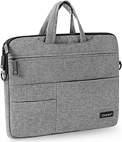 ICEBERG MAKERS.IN Okade Velvet Grey 13-15.6 Inch Laptop Sleeve Bag for 15Inch MacBook Pro/Pro Retina Protective Carrying Bag Case Cover for 14\